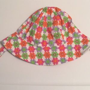 Grand Sierra colorful flower baby hat
